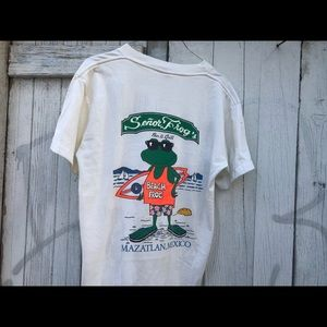 Other - Vtg Single Stitch Senor Frog's Tee Large